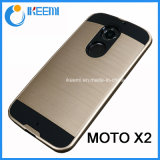PC+TPU Slim Armor Mobile Phone Case for Moto X2