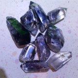 Natural Green Phantom Crystal Points