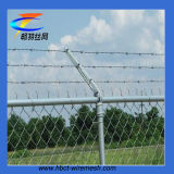 Hot Dipped Galvanized Chain Link Fencing with Barbed Wire (CT-51)