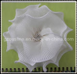 Ivory Wedding Chiffon Fabric Rhinestone Flower for Bride (FFA-0072)