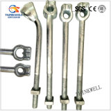 Galvanized Forged Steel Plate Anchor Rod