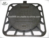 850X850mm D400 Sewer Cast Iron Manhole Cover with Gasket