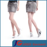 Ladies Denim Short Pencil Skirts (JC2105)