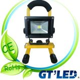 CE RoHS Approved LED Work Light/ Portable LED Flood Light/Rechargeable LED Flood Light