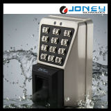 Metal Anti-Vandal IP65 Vandalproof Outdoor Fingerprint Access Control Reader