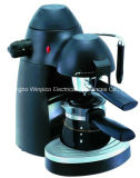 Electric 4-Cup Steam Espresso and Cappuccino Coffee Maker