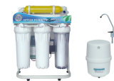 5 Stage Reverse Osmosis Water Purifier System with Iron Shelf for Household