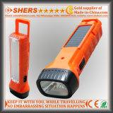 Solar Energy 1W LED Flashlight with Desk Lamp for Searching (SH-1939)
