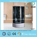 Luxury Tempered Glass Steam/Sauna Cabin Massage Shower (BLS-9 818 BLACK)