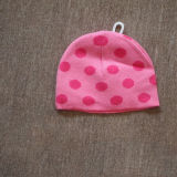 2014 New Arrival Pink DOT Infant/Baby Hat