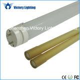 G13 Integrated Single Pin 2ft-8ft T8 LED Tube Light V Shape Dlc CE RoHS