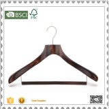 Custom Cheap Wooden Coat Hanger Suit Hanger for Cloth Shop