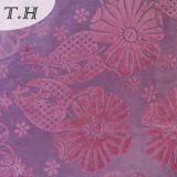 New Style Flocked Curtain Fabric