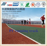 13mm Thickness Air Permeable Athletic Running Track with PU Material