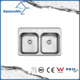 Hot Sale Stainless Steel Moduled Kitchen Sink (ACS8052AM)