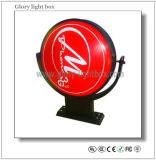 Rotating Advertising Display LED Shop Front Logo Sign