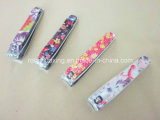 N-211bi Toe Nail Clipper with Design Coated Lever and Nail File