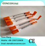 Disposable Hospital 1ml Syringe with Needle