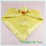 Yellow Duck Pacifier Baby Handkerchief Baby Soother