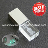 Custom 2d/3D Engraving Crystal USB Flash Drive / USB Stick / Pen Drive (VS-U16)