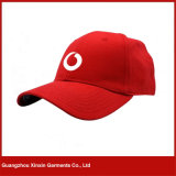 Custom Embroidered 100% Cotton 6 Panel Baseball Cap for Sports (C22)