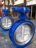 Py25 Dn400 Carbon Steel GOST Butterfly Valve