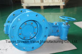 Double Eccentric Metal Seated Flanged Type Butterfly Valve
