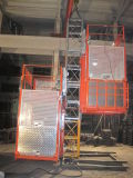 Construction Hoist SC100TD with Single Cage