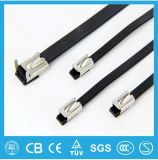 UL, Ce, RoHS, ISO9001 Plastic Covered Stainless Steel Cable Tie Free Sample
