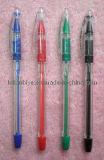 Plastic Gel Pen with Transparent Body (LT-C383)