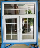 Wanjia High Quality PVC Casement Window (PVC casement-W001)