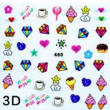3D DIY Kids Nail Art Sticker