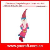 Christmas Decoration (ZY13L180-1 45CM) Christmas Crafts Santa Claus