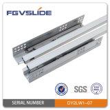 Single Extension Concealed Soft Close Drawer Slides with Adjustable Screw