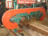 Automatic Portable Horizontal Band Sawmill Mj1000 with Electrical Motor