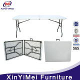 Rectangle Blow Molded Plastic Top Folding Table