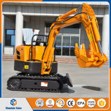 MR08 Mini Excavator Farm Digging Machine 800kg Crawler Excavator China Made Price