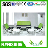 High Quality PU Leather Office Waiting Room Sofa (OF-39)