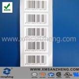 Clear Barcode Self Adhesive Scratch Resistant Ral Solid Coated Printer Labels