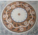 Marble Mosaic Floor Waterjet Medallion - 01