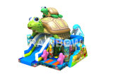Inflatable Animal Park Bouncer, Happy Turtle Combo