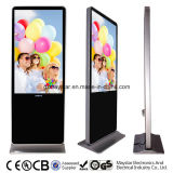 55 Inch WiFi Network 3G Full HD Advertising Displays Touch LED Kiosk
