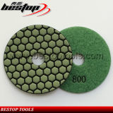 3 Inch Resin Diamond Dry Grinding Pad for Marble Stone