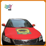a Series of Polyester Car Hood Cover Flag Custom Personal Logo