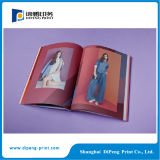 Full Color Art Paper Custom Fashion Magazine