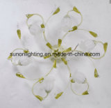 Modern Decorative Floral Wrought Indoor Iron Ceiling Light