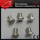 Stainless Steel 304 316 Dome Head Semi-Tubular Rivets with ISO Certification