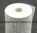 Crystal Sticker Rhinestone Hot Fix Rhinestone Back Sticker Mesh Rhinestone on Accessories DIY (TP-080silver)