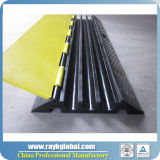 Rk 3 Channels PU Plastic Outdoor Events Cable Ramp Protector