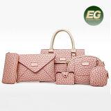 Elegant Style Women Bag Set New Striped Shoulder Bag Handbag Crossbosy Bag OEM Factory in Guangzhou Sy8244